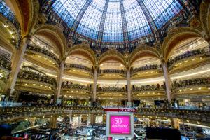 Galleries La Fayette,Paris