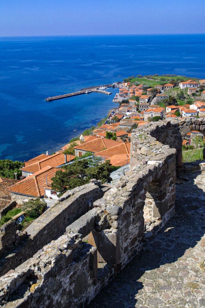 Molyvos Castle, Lesbos