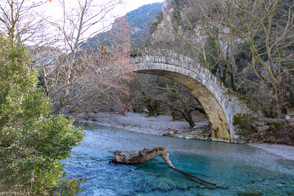 The old stone bridges of Zagori