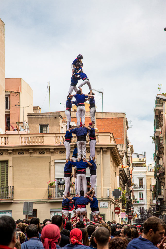 The Castelliers of Barcelona