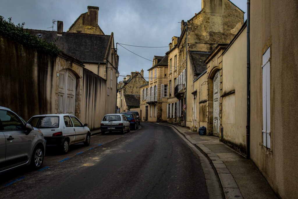 Bayeux France streetscape