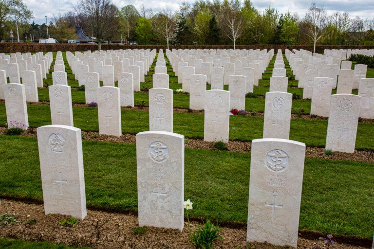 War Cemetery Bayeux